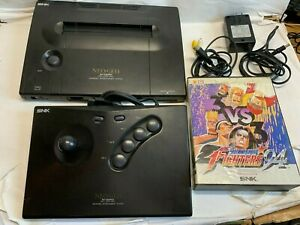 NEO GEO AES Console with Game -FREE SHIPPING-