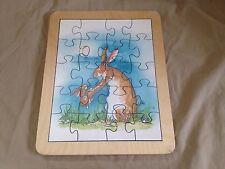 Wood Maple Landmark Woodcraft Guess How Much I Love You Wooden Puzzle USA