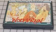 Wolfs Rain (DVD, 2009, 7-Disc Set, Anime Legends Perfect Collection) Bandai OOP