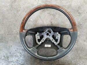 Volvo V70 S60 S80 Steering Wheel Wood Rim 8674581