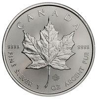 2017 Canada $5 1 oz. Silver Maple Leaf GEM BU SKU44165