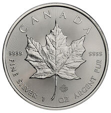 2017 Canada $5 1 oz. Silver Maple Leaf GEM BU SKU44165