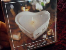 *Longaberger Heart Candle refill - Wildflower Fragrance