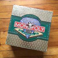 Monopoly 60th Anniversary Edition 100% COMPLETE!! 1994