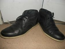 "FOLK Quality Handmade Leather upper lining hi top boots size uk 10""Eur 44"