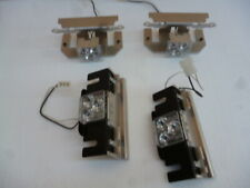 Whelen Lfl Liberty Patriot Super Led Alley Lights Two Pair With Brackets 4 Lights