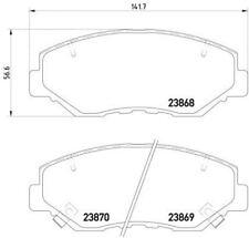 Mdb2265 Mintex Pastiglie Freno Set Freno a disco anteriore