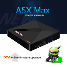 A5X Max Tv Box Rk3328 4G 32G Android 9.0 Wifi Quad-Core 4K Bluetooth O7L9H