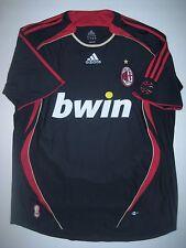 Adidas AC Milan 2006-2007 Alternate Third Black/Red Jersey Shirt Seedorf Maldini