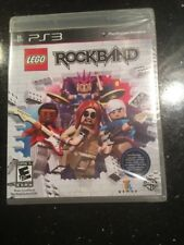 LEGO Rock Band (Sony PlayStation 3, 2009)  Brand New Factory Sealed