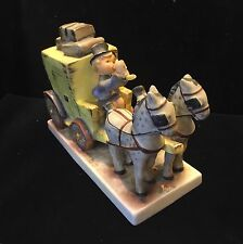 Goebel Hummel Mail Is Here Horses & Carriage figurine w/COA App.$1500