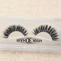 3D Messy Classic Luxurious 100% HandMade Thick Siberian Mink Fur False Eyelashes