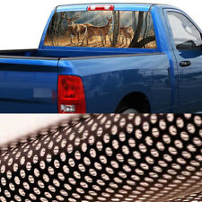 Hirsch Bock Heckscheibe Aufkleber Sonnenschutz Folie 165*56CM für US Auto Ford