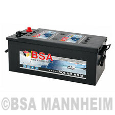 AGM Batterie 150AH 12V Solarbatterie Versorgungsbatterie statt 130Ah 140Ah GEL