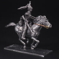 Tin soldier, French Cuirassiers Trooper, Napoleonic Wars, 54 mm