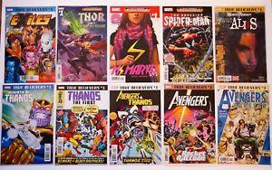 True Believers Reprint Series & Halloween Comicfest Marvel 10 Comic Book Lot NM