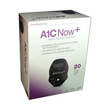 NEW A1C NOW+ 20 TEST KIT CHEK DIAGNOSTICS #3021 Exp in 2018 or Later !