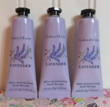 LOT OF 3 CRABTREE & EVELYN - LAVENDER - HAND THERAPY CREAM 25g/0.9 OZ EA