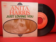ANITA HARRIS Just Loving You 7/45 EP NMINT PORTUGAL 67 UNIQUE NORTHERN SOUL JAZZ