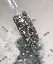 glitter mix acrylic gel nail art  SEASON GREETING limited edition Christmas