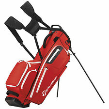 TaylorMade 2017 Flextech Stand Bag Red NEW 8533