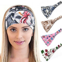 Woman Yoga Stretch Headband Wide Turban Hairband Accessories Hair Band Makeup