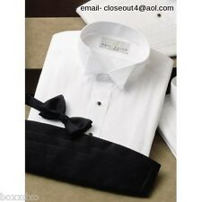 New Wing Comfo- Collar Tuxedo Shirt 15 -15 1/2 Neck 34 -35 Sleeve FREE Stud/Link