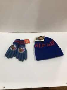 ALF TV SHOW VUNTAGE CHILD'S BLUE WINTER GLOVES AND HAT SET NEW WITH TAGS
