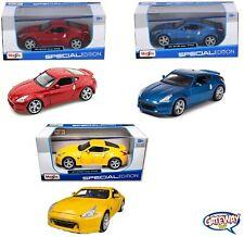 1/24 Maisto 2009 Nissan 370Z Fairlady Z Diecast Model Car Different Colors 31200