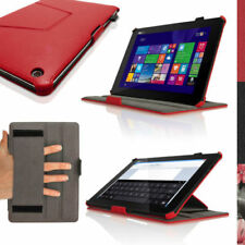 Red Synthetic Leather Tablet & eReader Cases, Covers & Keyboard Folios for ASUS