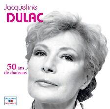 Jacqueline DULAC / 50 ans de chansons / (1 CD) / NEUF