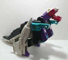 Vtg G1 Transformers Headmasters Snapdragon 1987 Incomplete W/Krunk Hasbro Takara