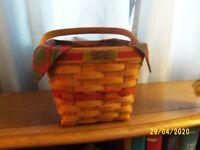 Longaberger 1995 Cranberry Basket