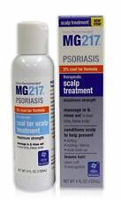 MG217 PSORIASIS maximum 4oz Therapeutic SCALP TREATMENT 3% coal tar Exp 01/20+