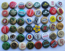 48 DIFFERENT BEER BOTTLE CAPS FOR COLLECTION (1)