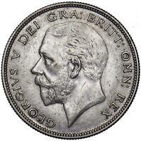 1936 HALFCROWN - GEORGE V BRITISH SILVER COIN - V NICE