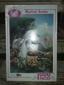 Serendipity Puzzle Co. mystical Garden.-Sealed Box made in USA (#65320)