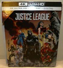 Justice League SteelBook (4K Ultra Hd + Blu-ray) Dc