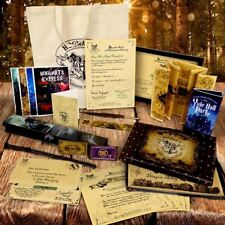 Harry Potter Personalised Set Acceptance Letter Maps Wand Quill Bag Card +More !