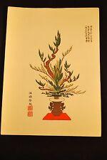 Meiji Era (March 25, 1909) Japanese Woodblock Ikebana Print # 11