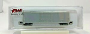ATLAS 31000 N SCALE UNDECORATED EVANS DOUBLE PLUG DOOR BOXCAR NEW IN BOX
