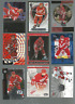 18 STEVE YZERMAN CARDS AND INSERTS ALL IN  NRMT SHAPE