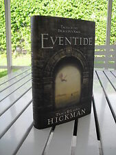 TALES OF THE DRAGON'S BARD EVENTIDE BY TRACY & LAURA HICKMAN 2012 1ST ED SIGNED