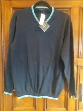 NWT XL Brooks Brothers Boys Navy V-neck sweater nwt $69.50