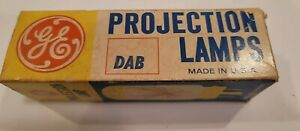 GE CZX DAB NOS General Electric Projection Lamp Bulb 115-120v 500W - NEVER USED