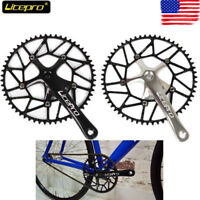 Litepro Folding Road Bike 170mm Crankset 130mmBCD Chainring 50/52/54/56/58T