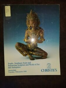 Christies 1989 South-East Asian, Indonesian Sculpture, Works of Art, Antiquities