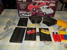 Vintage SpeedTrax Corvette Racetrack Lot and Anniversary Corvette Road Race Set