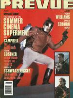 Mediascene Prevue Movie Magazine August 1991 The Rocketeer Bill Campbell