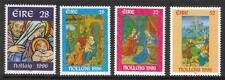 Irlanda Mnh 1996 sg1027-1030 Navidad-Libro De Horas De Juego De 4